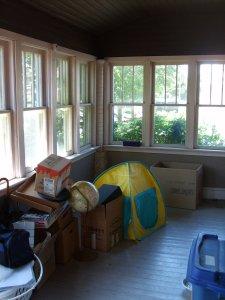 Sun Porch (Before)