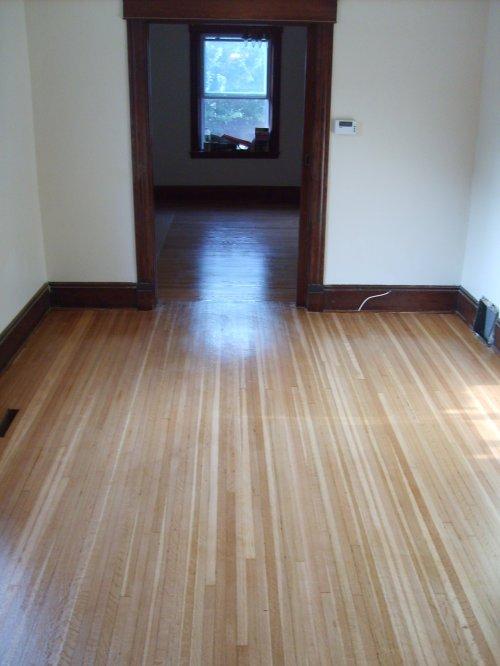 After - The Livingroom Hardwood Floors